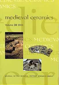 Medieval Ceramics 28